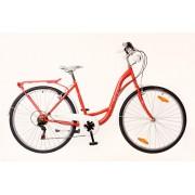 Neuzer Ravenna 6 Plus városi kerékpár Piros