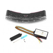 Kit de lumina pentru casca moto semnalizarea franarii si semnalizari bazat pe tehnologia de transmisie wireless cu 8 leduri - Phuture R