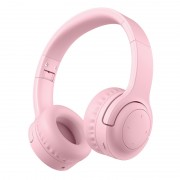 PICUN E3 Kids Over-ear Wireless Bluetooth Headphone Foldable Headset with Mic - Pink