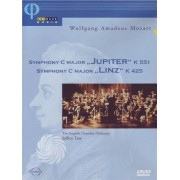 Video Delta Mozart - Symphony C major 'Jupiter' k 551 - Symphony C major 'Linz' k 425 - DVD