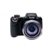 Kodak Astro Zoom AZ521-BK Digital Camera with 52x Optical Image Stabilized Zoom with 3-Inch LCD (Black) With 8GB Card and Carry Case