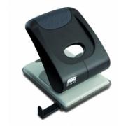 Perforator 40 Coli Model P840 Metalic Negru Noki gri Metal + Plastic Perforator birou 21-40 coli cu 2 perforatii