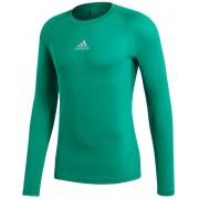 adidas Alphaskin Thermoshirt - groen - Size: 3X-Large