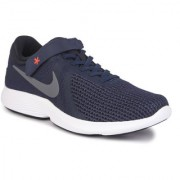 Nike Men's Revolution 4 Flyease Navy Sports Shoes