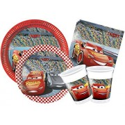 Ciao Y4324 Party in-Cars 3 Kit Rojo