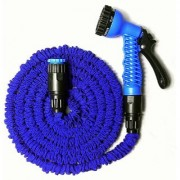New Garden Water Hoses Expanding Irrigation Magic Hose Water Pipe + Nozzle 15M