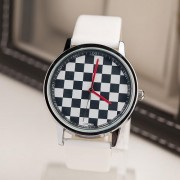 Ceas de mână șah alb