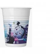 Vampirina műanyag pohár 8 db-os 200 ml