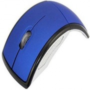 techdeal 2.4Ghz Folding ARC (Blue) Wireless Optical Gaming Mouse