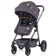 Бебешка количка с трансформиращ се кош Chipolino Ноа, сив деним, 3500562