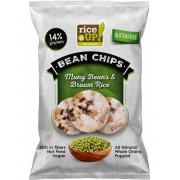 Rice Up Barna Rizs Chips Mungóbabbal 60 g