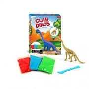 Wow Toys Dinosaur Super Clay Mold Play Kit-Creativity for Kits-Build Dino Art and Craft Toys-Brachiosaurus