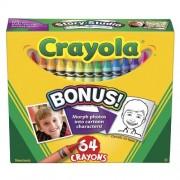 Set Creioane Colorate 64 Culori
