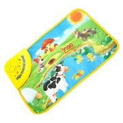 WHYQZ Kids Music Game Carpet Pad Kids Baby Zoo Farm Pond Musical Touch Play Singing Carpet Mat Toy Cotton Toy (Pond)