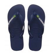 Havaianas Slippers Flipflops Brasil Logo Blauw