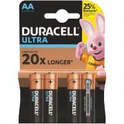 Duracell Ultra Baterii AAA R3 Set 4 bucati
