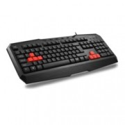 Клавиатура Delux DLK-9020, Multimedia Function, USB, черна