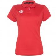 The Indian Maharadja Girls Tech Polo Shirt IM - Red
