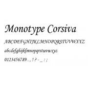 GRAVÍROVANIE Font/ Typ písma: Monotype Corsiva