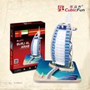 Lelifang Kids Toys C065H-2 3D Jigsaw Puzzles at Burj Al Arab Dubai, United Emirates