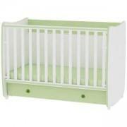 Детско легло Dream бяло със зелено, 10150420023A
