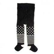 Happy socks Kids Tights Stripe Dots Black * Fri Frakt * * Kampanj *