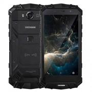 "DOOGEE S60 Teléfono Uso Rudo 6GB RAM 64GB ROM 5.2"" 5580mAh Android 7.0 MTK Helio P25 Octa Core hasta 2.5 GHz 4G-LTE, Negro"