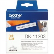 Brother P-Touch QL 1100 NWB. Etiquetas de Papel Negro/Blanco Original