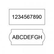 Rola de etichete Blitz C8 - alba