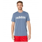 adidas Designed-2-Move Linear Logo Short Sleeve Tee Tech Ink
