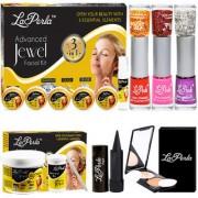 LaPerla Gorgeous Skin Make-Up Palette Combo Set of 7 GC579-By Adbeni