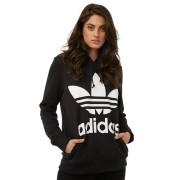 Adidas Originals Womens Trefoil Hoodie Black