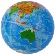ER Mapa Mundial Espuma Tierra Globo Estrés Del Socorro De Bola Animosa Atlas Geografía Toy TH092