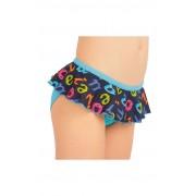 LITEX Dívčí plavky kalhotky bokové 57560 98