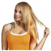 Merkloos Oranje haar extensie voor dames