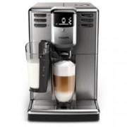 Aвтоматична еспресо кафемашина Philips Saeco Series 5000, 6 напитки, система LatteGo, неръждаема стомана, AquaClean, инокс