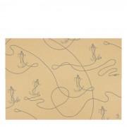 Geschenkpapier Stockanker Bow & Hummingbird