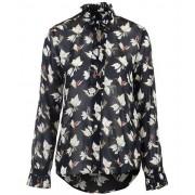 Gant Floral chiffon bow blouse