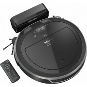 Aspirator robot Miele RX2 BLACK, Home Vision, Mobile Control, Li-Ion, 4400mAh, 120 min, Negru