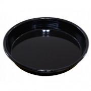 Тава за печене AL 1222 34EM, 34 см, Екологично чиста, Емайл, Черна