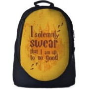 The Souled Store. Harry Potter: Mischief Managed Backpack 30 L Backpack(Black)