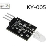 Invento 1PCS KY-005 38KHz Infrared IR Transmitter Emission Sensor Module For Arduino UNO Mega PIC AVR Raspberry pi