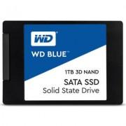 Диск ssd wd blue 1tb 2.5 инча, sata iii 3d nand, wds100t2b0a