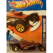 Hot Wheels 2011 Hw Drag Racers 11 8/10 Super Comp Dragster 128/244 (Black & Brown)