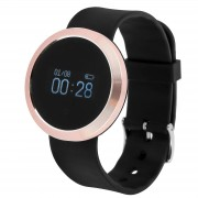 Forever SB-310 Smart Watch-Gold Pink Activity Tracker Rosa