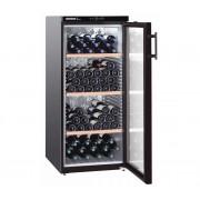 Wijnbewaarkast Zwart | 164 Flessen | Liebherr | 336 Liter | WKb 3212 | 60x74x(h)135cm
