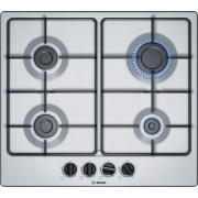 Bosch Serie 4 PGP6B5B80 Ingebouwd Gaskookplaat Zwart, Roestvrijstaal kookplaat