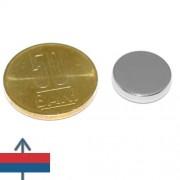 Magnet neodim disc 15 x 3 mm