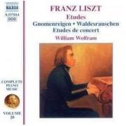F Liszt - Etudes/ Gnomenreigen (0747313201426) (1 CD)