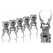 Set 6 Pahare Vodka Orso by Chinelli made in Italy